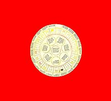 Urine Wheel (Bright/Red) by psychopompous