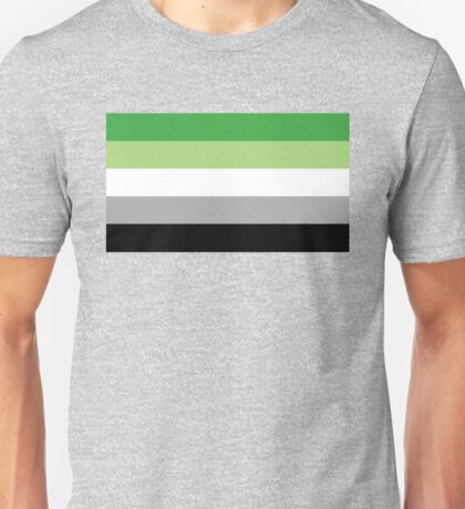 Aromantic Flag Unisex T-Shirt