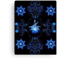 cool blue Canvas Print
