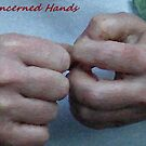 Concerned Hands by Bea Godbee