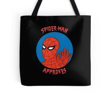Spidey Approves Tote Bag
