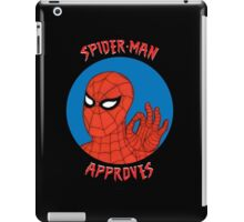 Spidey Approves iPad Case/Skin