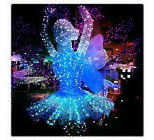 Ballerina in Lights Photographic Print