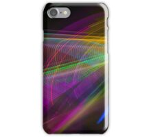 Abstract Colours Long Exposure Art 1 iPhone Case/Skin