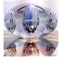 Reflection - Refraction - Distortion Poster