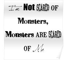 I'm Not Scared of Monsters Poster
