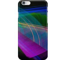 Abstract Colours Long Exposure Art 2 iPhone Case/Skin