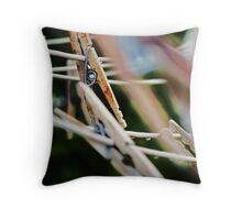 Almost Obsolete Throw Pillow