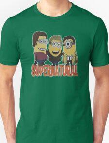MINIONS SUPERNATURAL Dave The Minion detective cartoon character funny T-Shirt