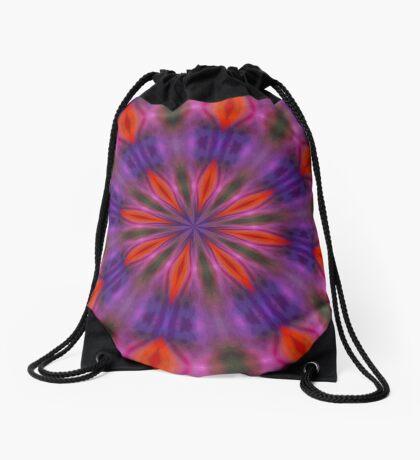 Play of Light Kaleidoscope Drawstring Bag