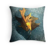 The Frost Spirit Comes Throw Pillow