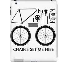 Chains Set Me Free iPad Case/Skin