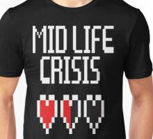 8 Bit Mid Life Crisis Unisex T-Shirt