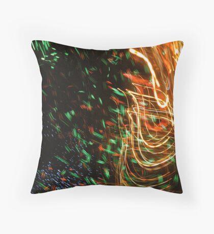 Weaver by Bradley Blalock Throw Pillow
