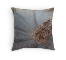 Ghostly Gourd Throw Pillow
