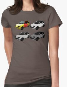 The Clungemobile - The Inbetweeners Womens Fitted T-Shirt