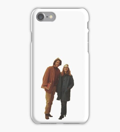 Bill and Hillary Clinton iPhone Case/Skin