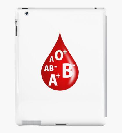 Blood Type iPad Case/Skin
