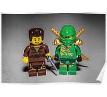 Ninjago and Dareth Poster
