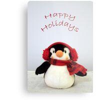 Penguin Wishes Metal Print