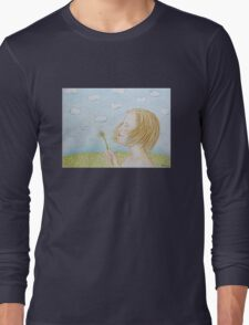 A dandelion Long Sleeve T-Shirt