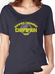 Hammer Throwing Champion Women's Relaxed Fit T-Shirt