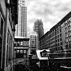 Winter In The City Of Hope by LaFleureRouge1