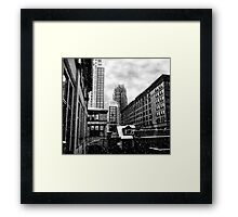 Winter In The City Of Hope Framed Print