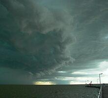 Storm coming - Milang jetty SA by Congolli