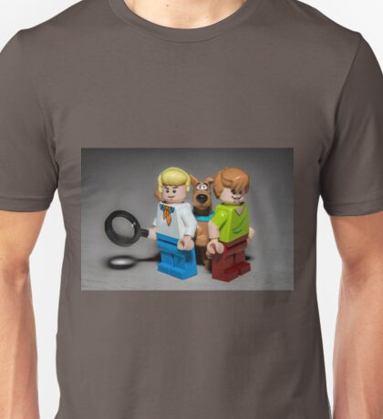 Fred, Shaggy and Scooby Doo Unisex T-Shirt