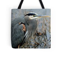 Great Blue Closeup Tote Bag