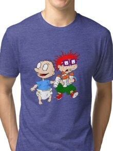 Rugrats Tommy and Chuckie Tri-blend T-Shirt