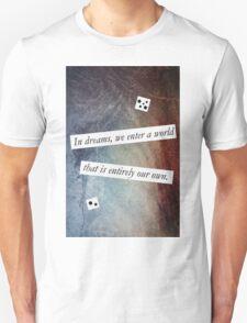 In Dreams - Harry Potter Dumbledore Quote Unisex T-Shirt
