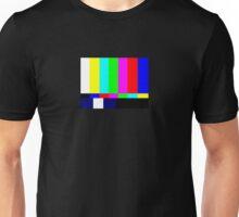 Old School Test Pattern  Unisex T-Shirt