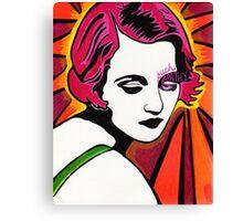 Tallulah Bankhead Canvas Print