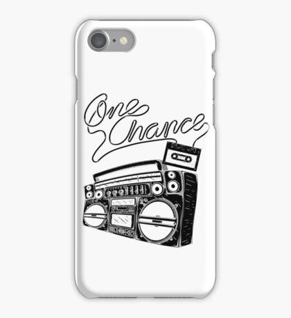 One Chance Ghetto Blaster iPhone Case/Skin