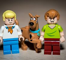 Fred, Shaggy and Scooby Doo by garykaz