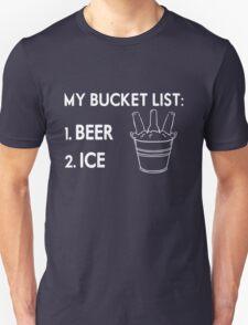 My Bucket List Beer Ice T-Shirt