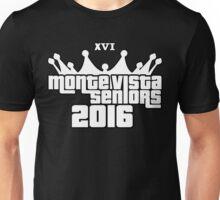 Monte Vista High School Senior 2016 XVI Unisex T-Shirt