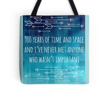 900 Years of Time and Space Tote Bag