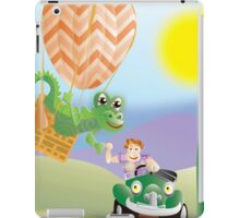Larravide Driver and Balloon  iPad Case/Skin