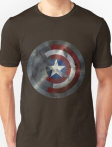 Worn Steve & Bucky Unshielded Half Shield  Unisex T-Shirt