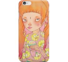 Orange Fluffy iPhone Case/Skin