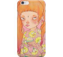 Orange Fluffy iPhone Case/Skin