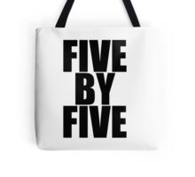 Five by five Tote Bag