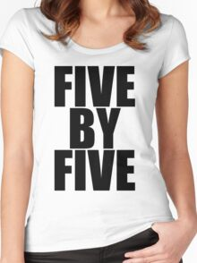 Five by five Women's Fitted Scoop T-Shirt
