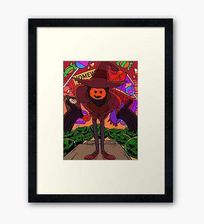 Summerween Trickster  Framed Print
