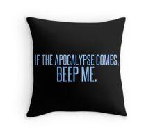 Beep me Throw Pillow