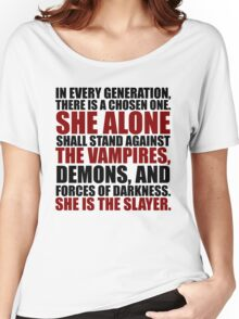 """In every generation..."" Women's Relaxed Fit T-Shirt"