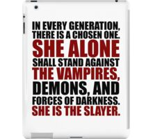 """In every generation..."" iPad Case/Skin"